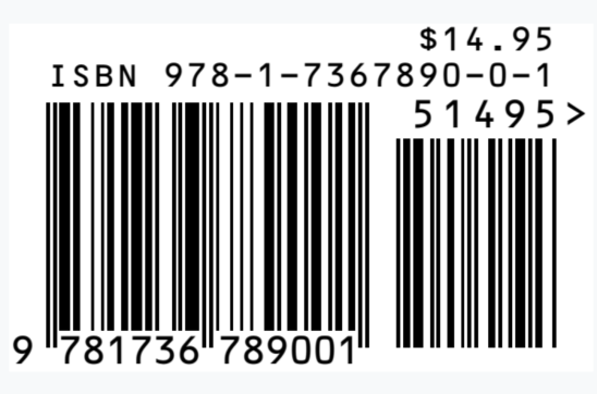 """Barcode for """"canvas"""" by James Morehead"""