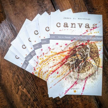 """""""canvas"""" by James Morehead Galley Proofs"""