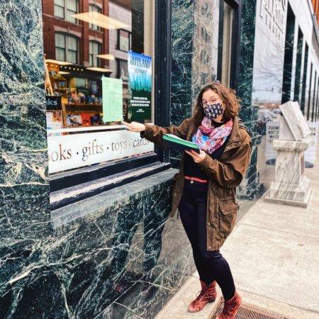 Poetry Downtown Rutland 2021 (photo credit: Bianca Zanella)